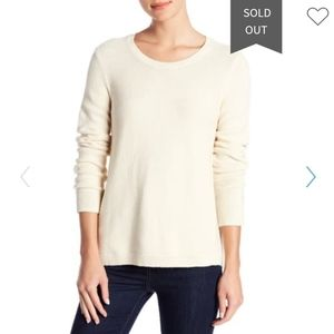 NWOT Madewell Riverside Textured Sweater